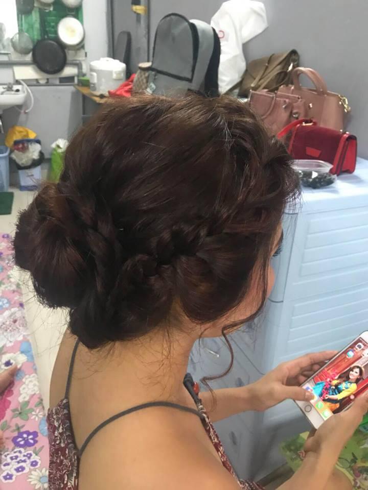 Trang điểm và làm tóc tại nhà TPHCM