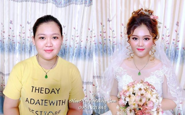 Trang điểm cô dâu tại TPHCM
