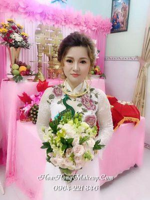 Trang điểm cô dâu ở Hậu Giang