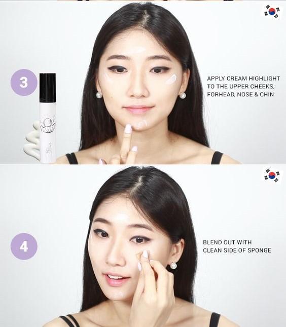 Cách Trang Điểm Hàn Quốc Cho Mặt Tròn